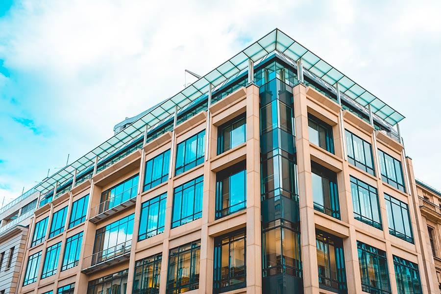 Blue-Building